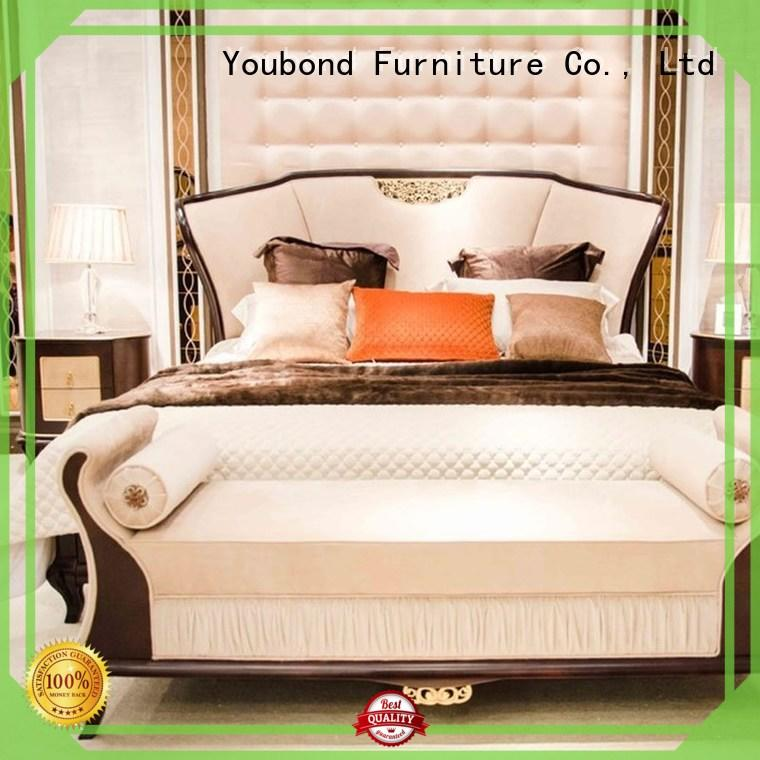 European Italian Style Classic Bedroom Furniture Mix With Chinese Element For Decoration 0071