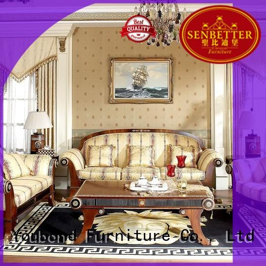 dubai design classic living room furniture carving living Senbetter company