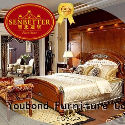 Hot design oak bedroom furniture beech Senbetter Brand