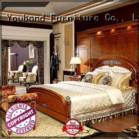 royal brown furniture bedroom supply for decoration