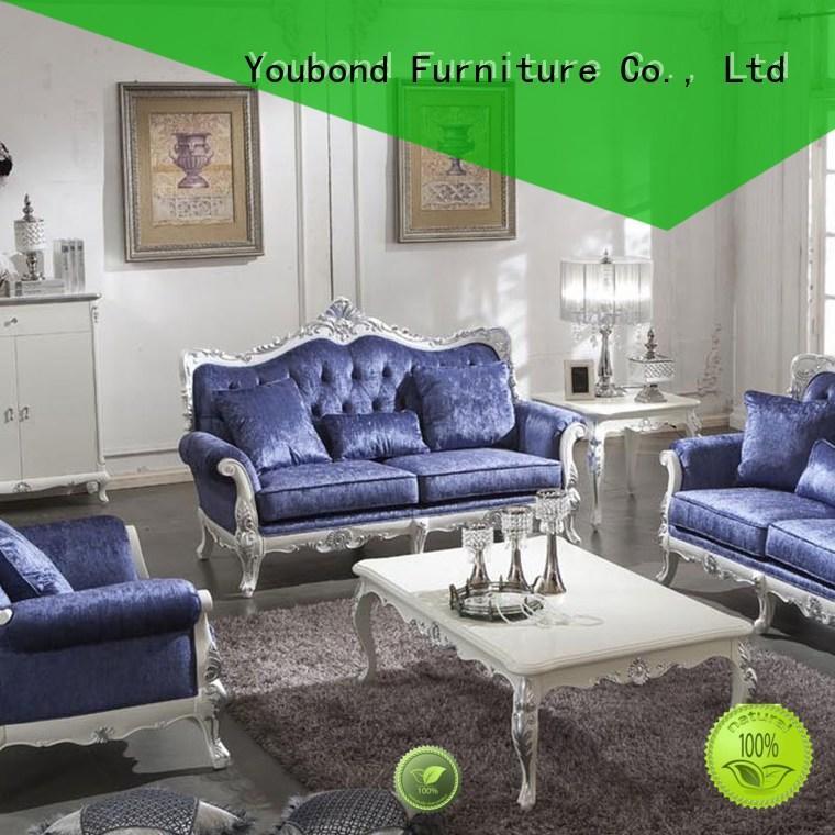 white living room furniture vintage classic living room furniture Senbetter Brand