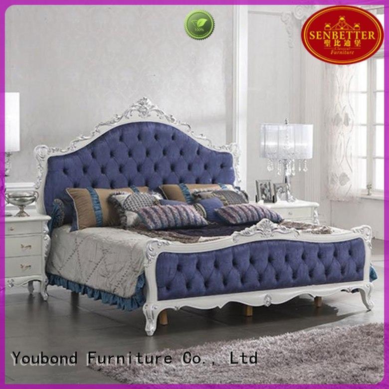 Senbetter Brand bedroom style oak bedroom furniture veneer