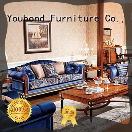 french new living room furniture fabric or leather sofa for hotel