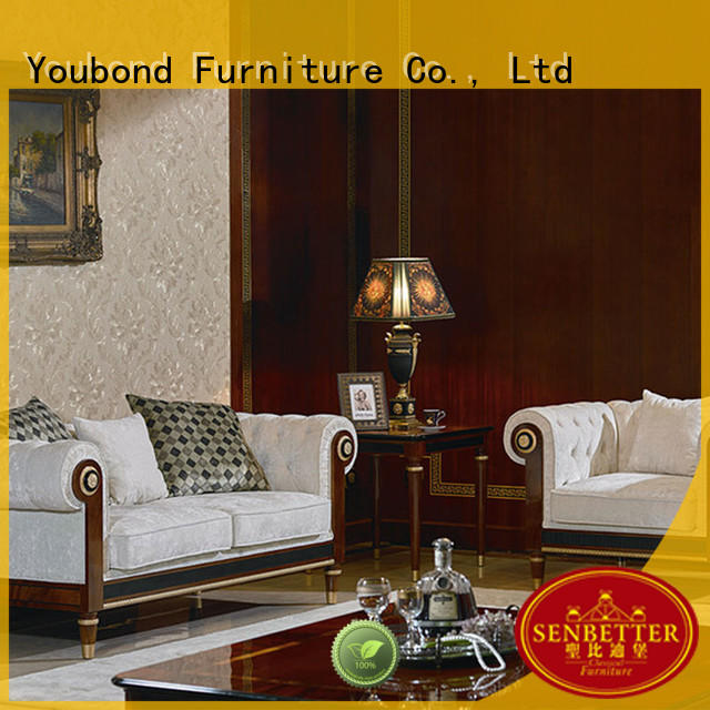 Senbetter Brand dubai delicate latest classic living room furniture