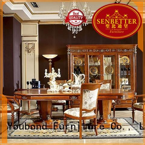 Senbetter senbetter furniture dining table factory for hotel