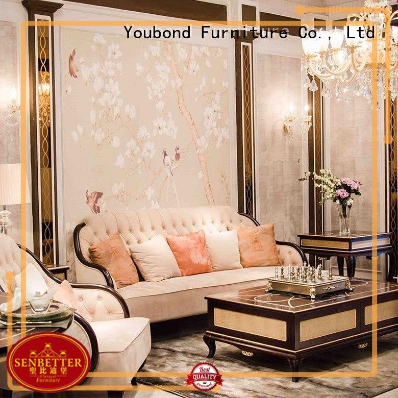 Hot white living room furniture design Senbetter Brand italian style