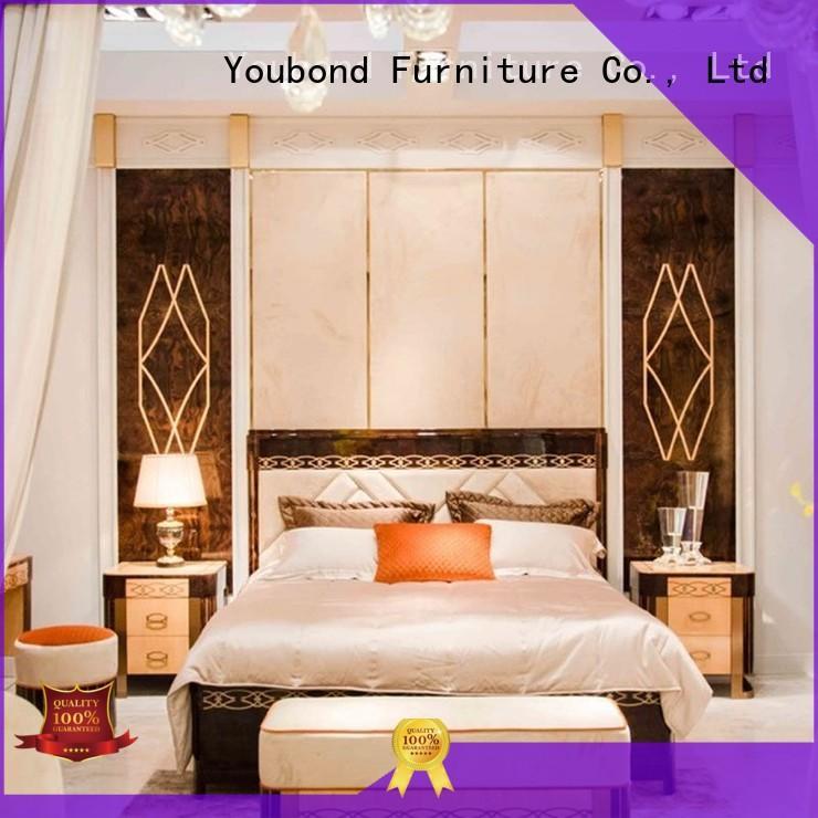 oak bedroom furniture solid Senbetter Brand classic bedroom furniture
