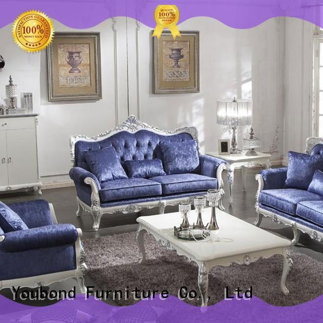 Senbetter fancy living room furniture with solid wood chair for living room