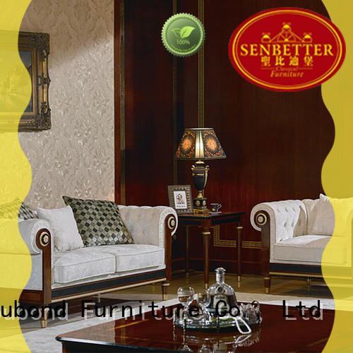 Hot carving white living room furniture room Senbetter Brand