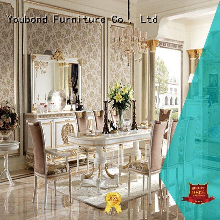 Hot dinette sets design classic dining room furniture villa Senbetter