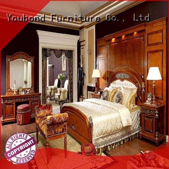 classic gross solid wood bedroom furniture Senbetter oak bedroom furniture style