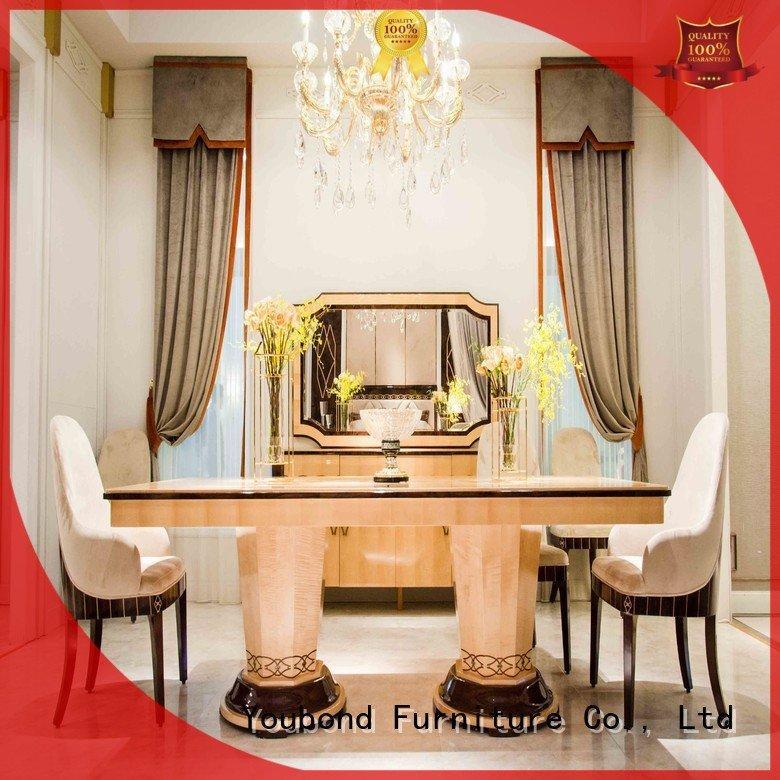 Senbetter Brand royal dining dinette sets wooden antique