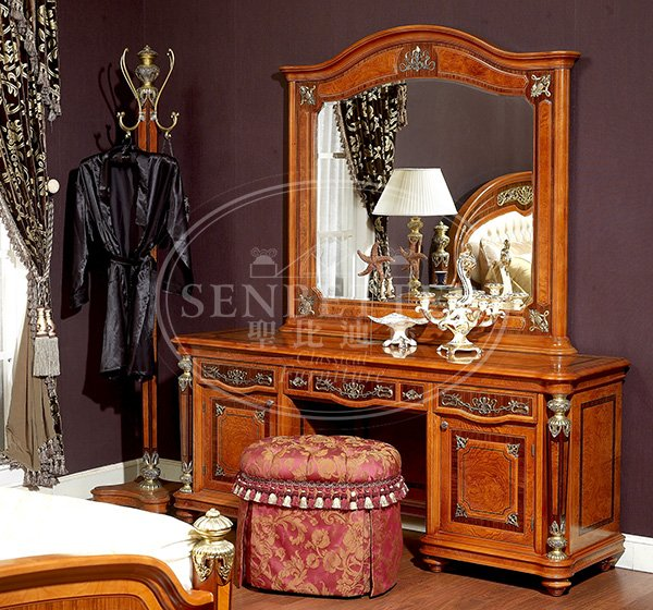 newly ash bedroom furniture with chinese element for sale-6