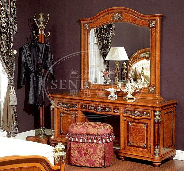 Senbetter Brand classic bedroom custom oak bedroom furniture