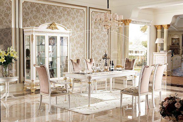 wholesale white dining room furniture factory for villa-1