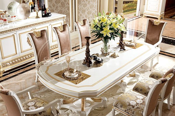 wholesale white dining room furniture factory for villa-2