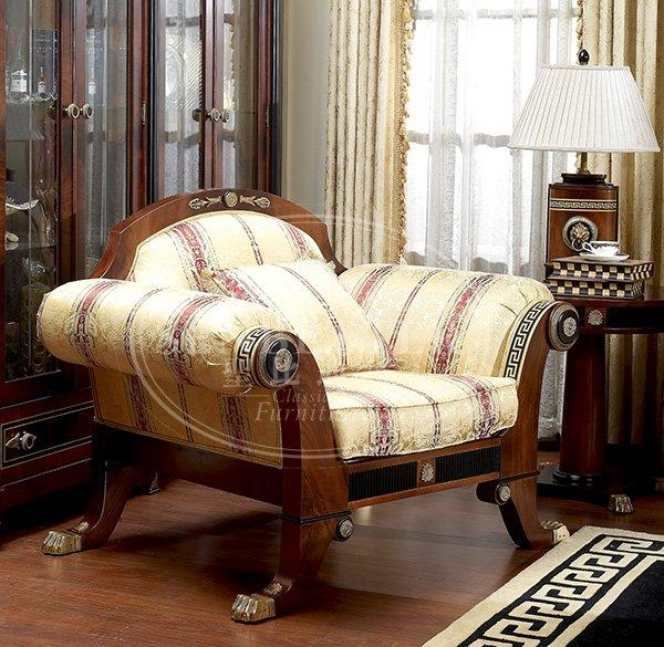 Senbetter clearance living room furniture with solid wood chair for living room