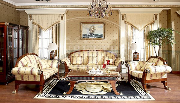 Senbetter living room suites for sale with flower carving for living room-1