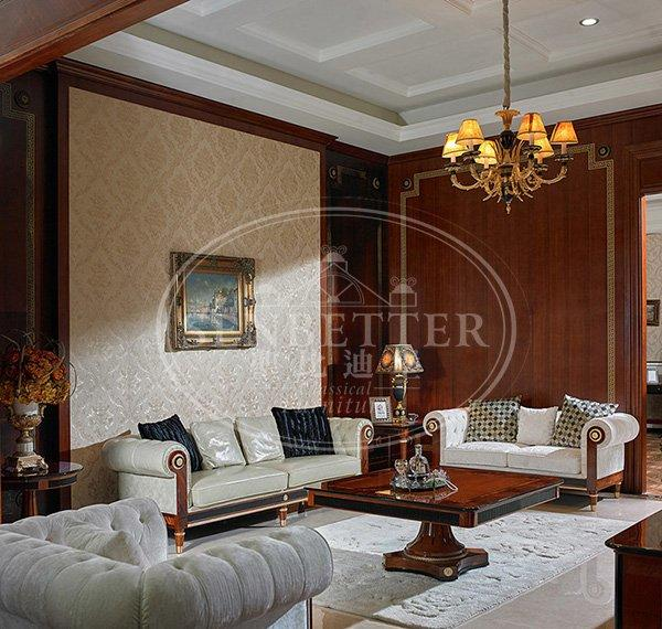 Senbetter italian living room furniture design with fabric or leather sofa for living room-1