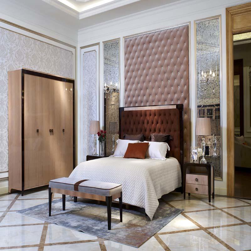 High End Upscale Modern Luxury Style Bedroom Furniture 0075