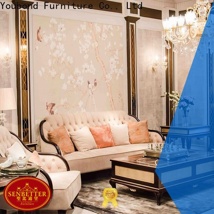 Senbetter best wholesale furniture with brass accessory for hotel