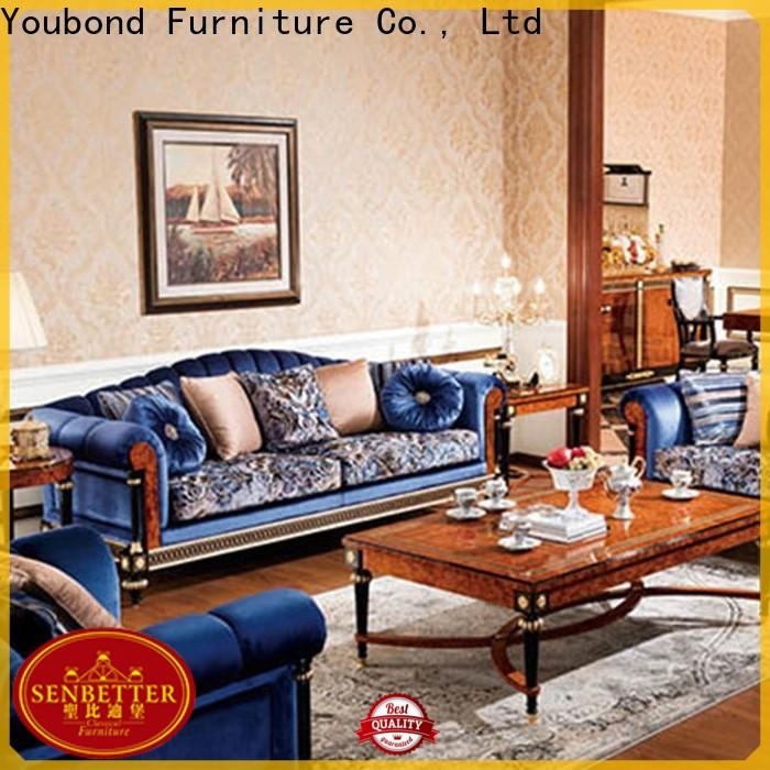 latest classic living room furniture with buffet for villa