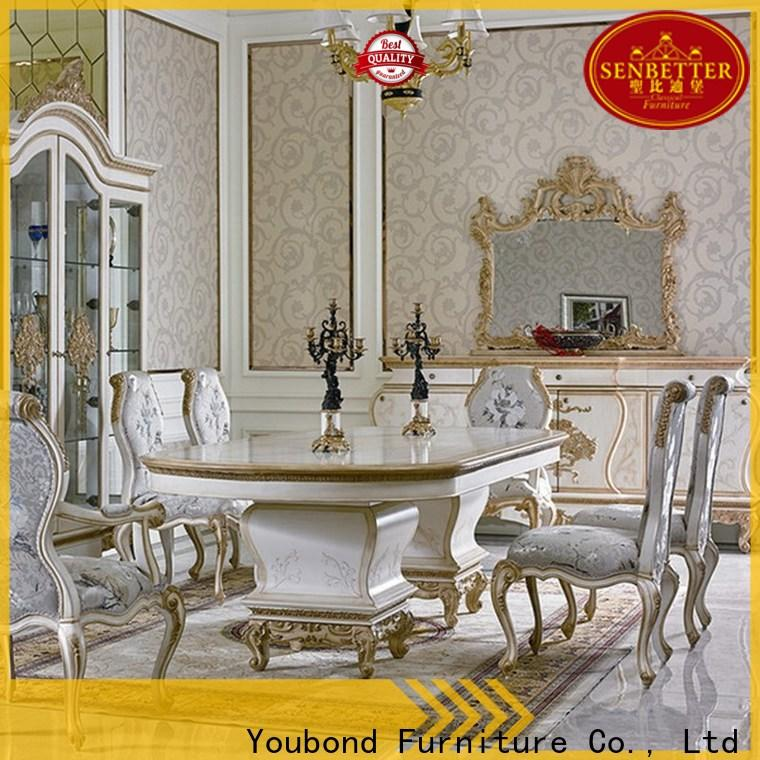 Senbetter legacy classic furniture dining set manufacturer for hotel