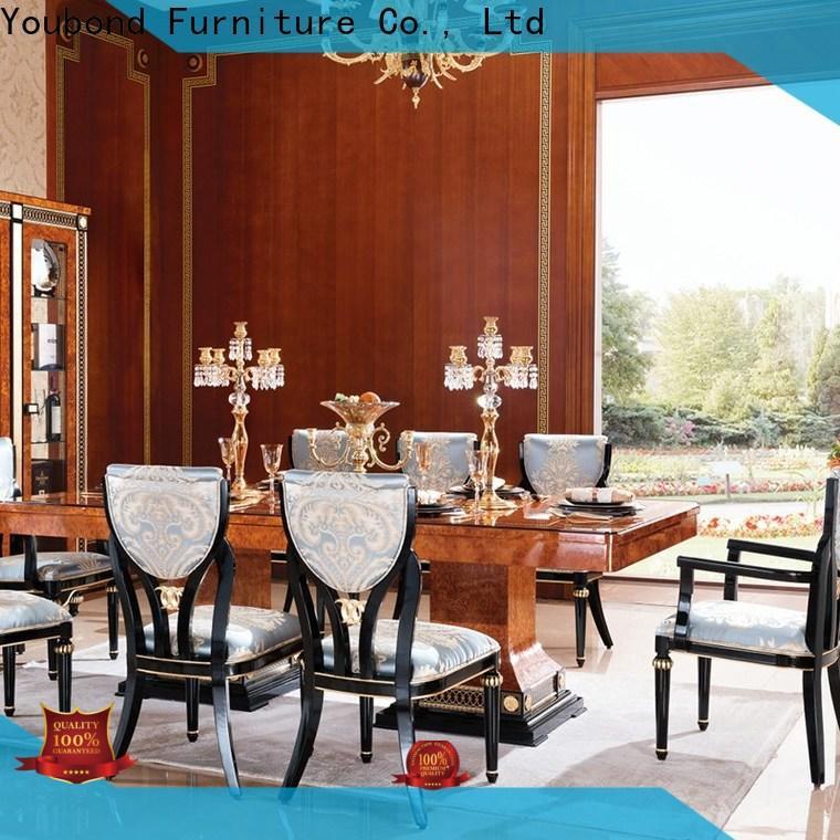Senbetter solid wood dining table supply for villa