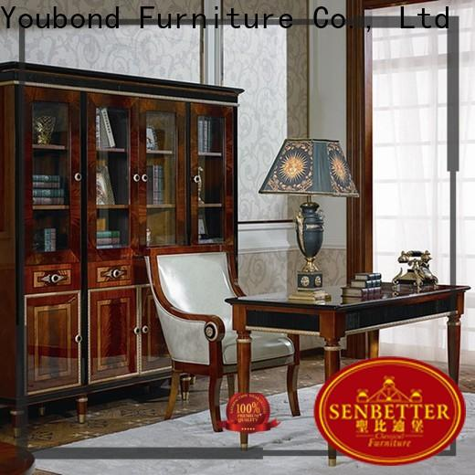 Senbetter wooden office table and chair for business for home