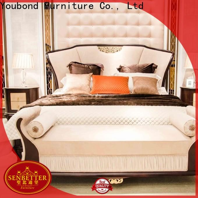 Senbetter classical upscale bedroom furniture factory for sale