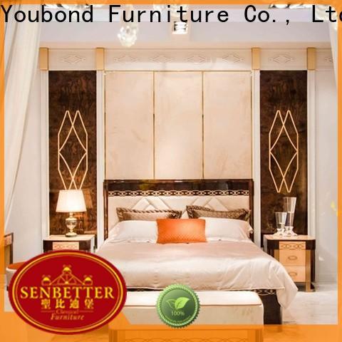 Senbetter top royal bedroom furniture with white rim for sale