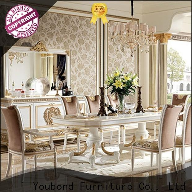 Senbetter solid wood dining table sets with buffet for sale