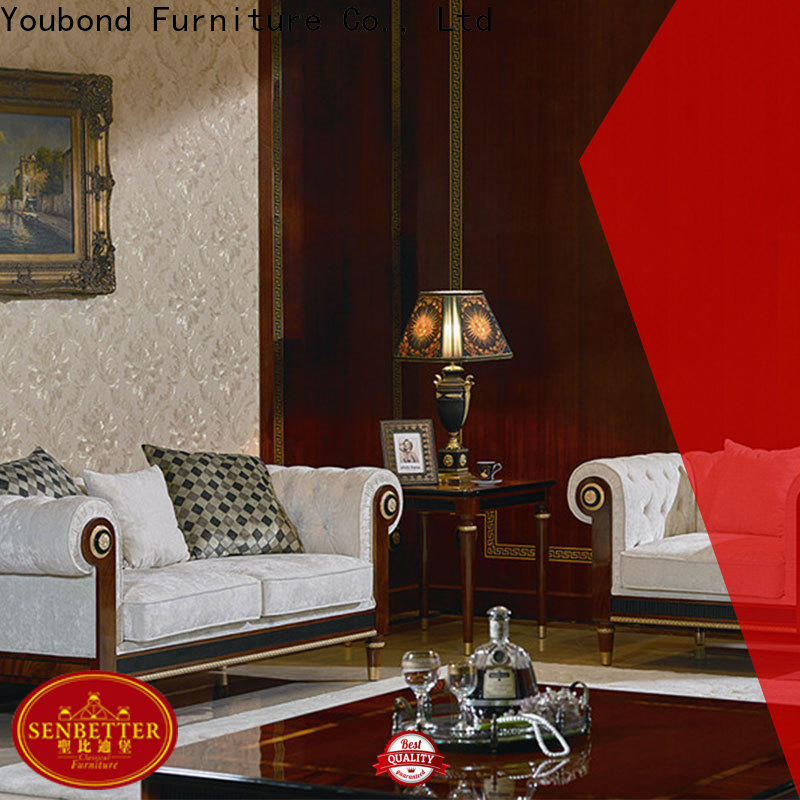 Senbetter luxury traditional living room sets for sale with buffet for home