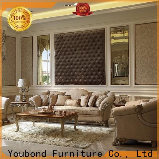 wholesale living furniture set with solid wood chair for living room