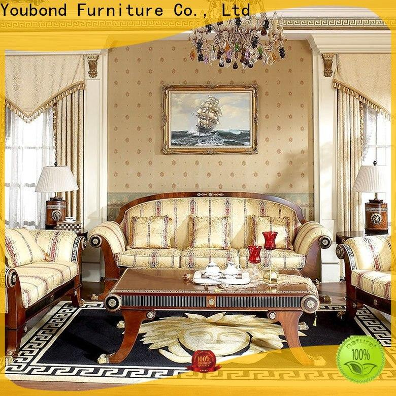 latest sitting area furniture with fabric or leather sofa for living room