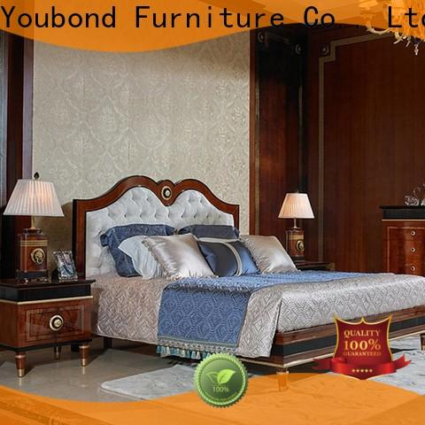 Senbetter traditional bedroom chairs with white rim for royal home and villa