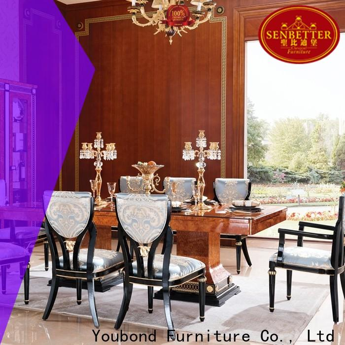 Senbetter hand carving wood dining room sets for business for collection