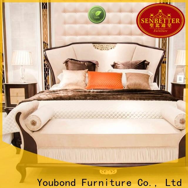 Senbetter cottage bedroom furniture with chinese element for sale