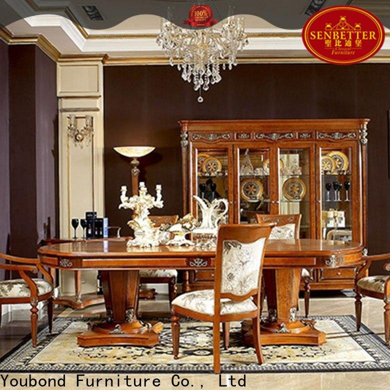 Senbetter hardwood dining table set suppliers for home
