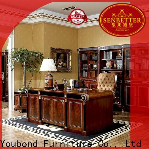 Senbetter best traditional style office furniture with bookcase for home