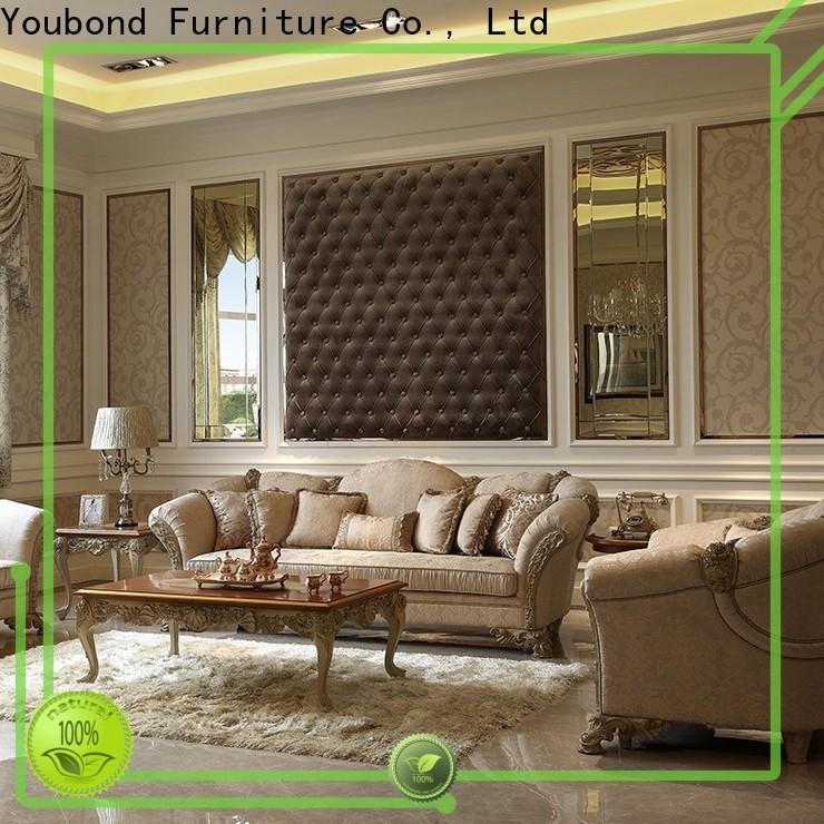 Senbetter luxury european furniture with mirror of buffet for villa