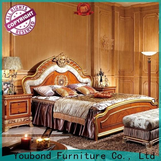 wholesale western bedroom furniture with white rim for sale