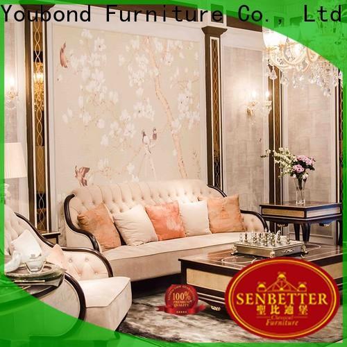 Senbetter wooden 2 piece furniture set suppliers for villa