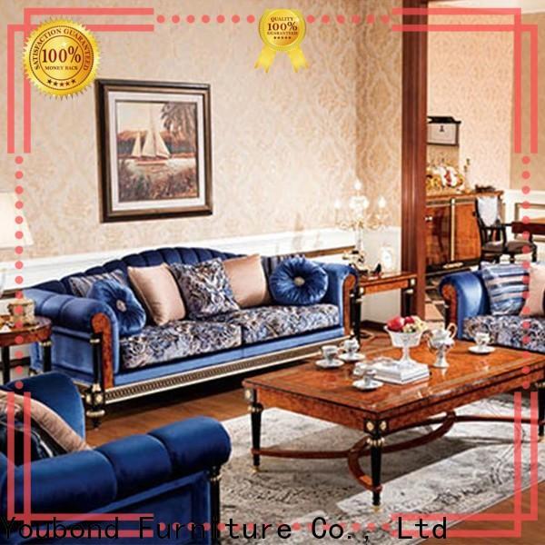 Senbetter gloss leather furniture sets for business for villa