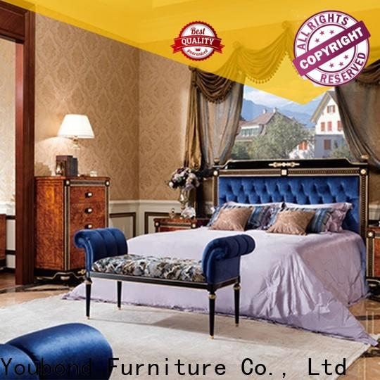 latest royal bedroom furniture factory for decoration