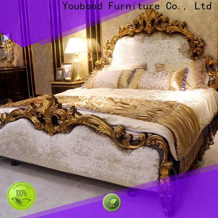 Senbetter gold bedroom furniture factory for sale