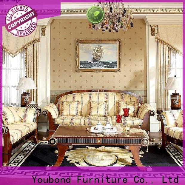 Senbetter living room suites for sale with flower carving for living room