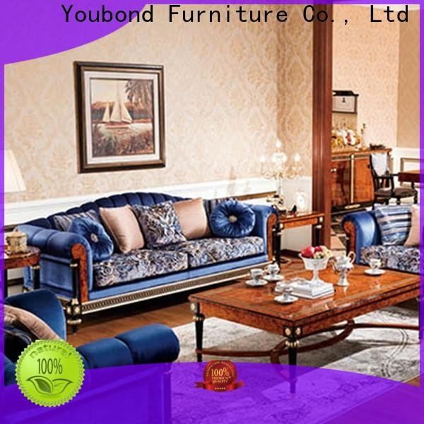 Senbetter wood living room furniture with solid wood chair for hotel