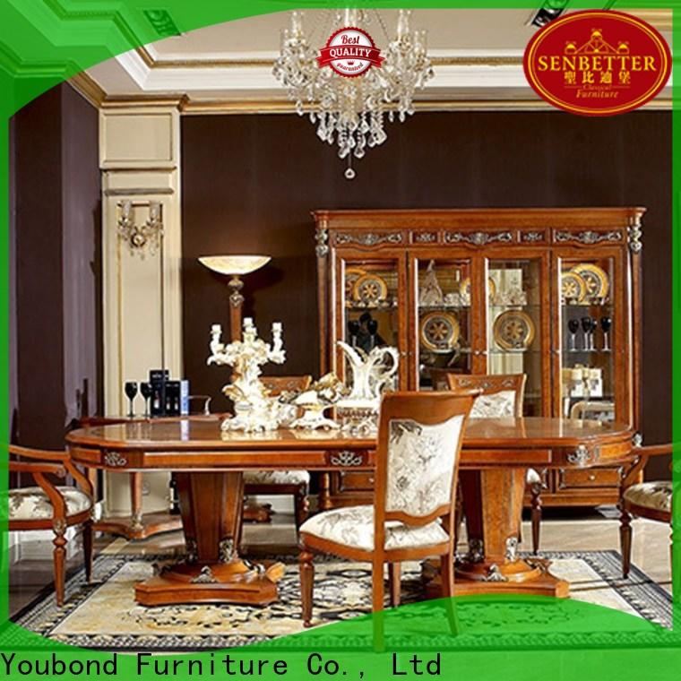 Senbetter solid wood italian furniture dining table factory for collection