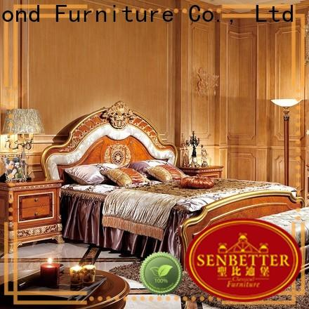 Senbetter traditional master bedroom furniture with chinese element for decoration